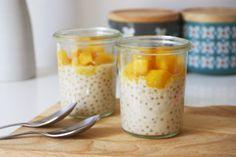 Perles du Japon au lait de coco vanillé et mangue fraîche. – Mademoiselle Pah