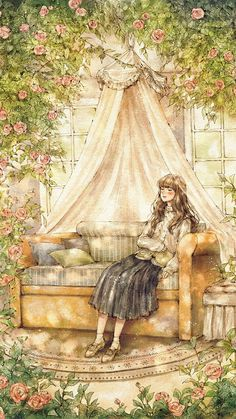 소녀 일러스트 illustration