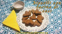 Biscotti con farina di ceci senza glutine e vegan