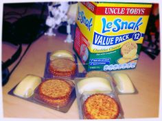 """Le Snak Uncle Tobys """"My fave cheesy crackers ever"""""""