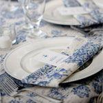 Blue + White = Wedding Inspiration
