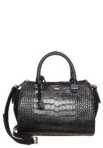 #Fiorelli #Croc Black Top Handle Handbag with detachable strap
