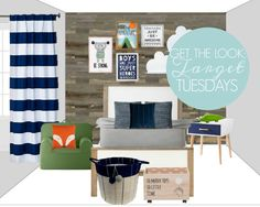 TARGET TUESDAY: BOY'S ROOM INSPIRATION