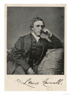 Lewis Carroll alias Charles Lutwidge Dodgson, English Mathematician, Clergyman and Writer Giclee Print at AllPosters.com