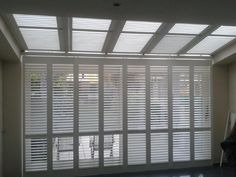 shutters in porch . #shutters , #exinterior ,