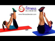 Tabata Kettlebell Workout and Abs and Obliques Workout - 45 Minute Kettlebell Training, Fitness Blender