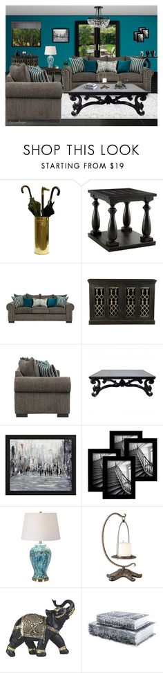 """""""FEELS LIKE SUNDAY MORNING"""" by arjanadesign ❤ liked on Polyvore featuring interior, interiors, interior design, home, home decor, interior decorating, Signature Design by Ashley, Room Essentials, Universal Lighting and Decor and Home"""