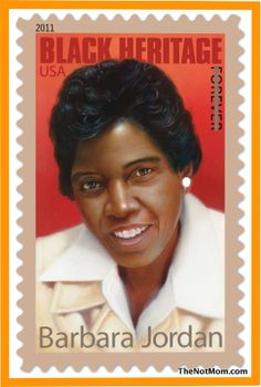 BARBARA JORDAN (1936-1996) - Noted for excellence in oratory and constitutional law, she was the 1st African American elected to the Texas legislature (1966) and in 1972, the first black woman elected to Congress from the South (D-TX). Re-elected to Congress twice, in 1977, she declined to run again and became a professor of government at the University of Texas. She received the Presidential Medal of Freedom from President Bill Clinton in 1994 and was honored with a U.S. postage stamp in…