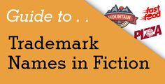 Trademarks in Fiction