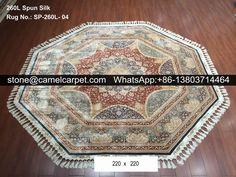 260L silk carpet #handmadecarpet#handmaderug#persiancarpet#persianrug