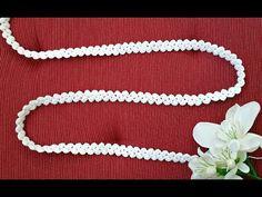 Crochet Art, Free Crochet, Crochet Patterns, Crochet Patron, Bead Sewing, Muse, Diy Jewelry, Easy Diy, Stitch