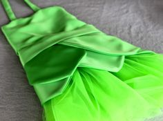 Tinkerbell Fairy Costume Tutorial plus lots of other princess dress tutorials