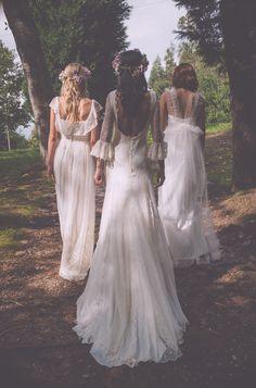 Qué tendran las novias gallegas? Hoy en el blog os hablo de la colección de novias de Boüret Atelier http://www.unabodaoriginal.es/blog/de-la-cabeza-a-los-pies/vestidos-de-novia/las-novias-de-bouret-atelier