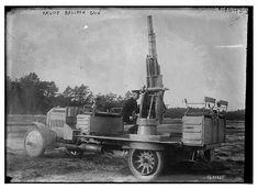 Krupp balloon gun on truck LOC