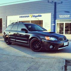 Lowered Subaru Outback