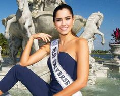 Miss Universe 2014, Paulina Vega, invited by Colombia's FARC rebels for Peace Talk