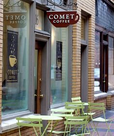 America's coolest coffeehouses: Comet Coffee, Ann Arbor, MI