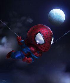 #Spiderman #Fan #Art. (Spider-Chibi) By: Kuchu. (THE * 5 * STÅR * ÅWARD * OF * MAJOR ÅWESOMENESS!!!™)[THANK U 4 PINNING!!!<·><]<©>ÅÅÅ+(OB4E)