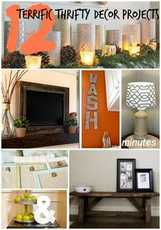12 Thrifty Decor Projects