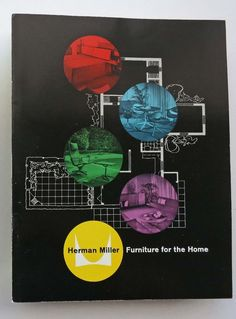 A 1958 @hermanmiller catalog, the Herman Miller for the Home collection