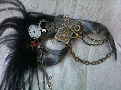 """Steam Punk """"Journey"""" Masquerade Mask"""