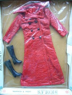 Vintage 1970s Boxed Nicola's Doll Clothes Coat & Boots - Tressy Barbie Sindy…