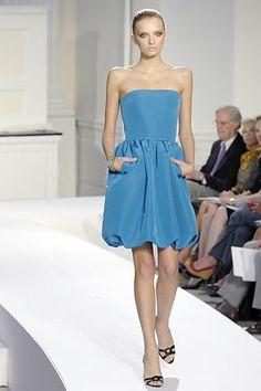 Oscar de la Renta Spring 2008 Ready-to-Wear Fashion Show - Caroline Trentini