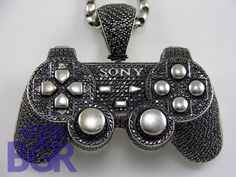 Just a diamond encrusted PlayStation controller...