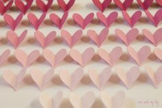 February Ombre Heart Calendar and Free Downloadables at Me and My DIY