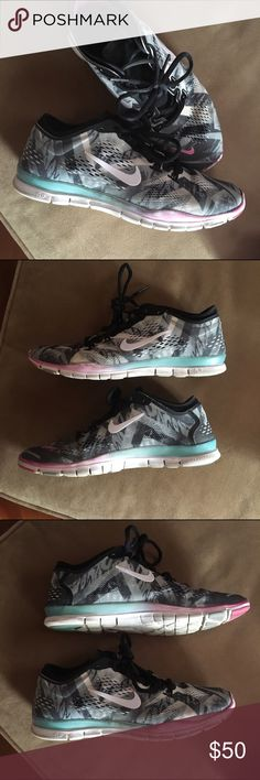 Nike Free Training Sneakers Cute grayish purple light pink Nike training 5.0 . Warned in but so cute and comfy Shoes Sneakers