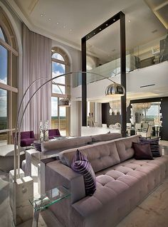 Chic Living Space...Beautiful! #home_decor #living_space http://www.pinterest.com/beestiag/my-lounge/