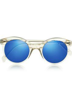 d922376a15 Illesteva - White Chapel cat eye acetate sunglasses