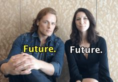 "12 Rounds Of Would You Rather With Sam Heughan And Caitriona Balfe Of ""Outlander"""