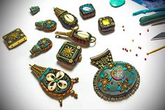 Work in progress ~ for Ethnic jewelry | by Aow Dusdee