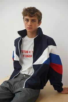 Gosha Rubchinskiy SS16 lookbook Con protagonisti due fratelli francesi