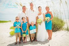 Beach weddings are the best!