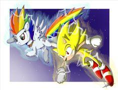 .:Super Sonic Rainbow Boom:. by The-Butch-X.deviantart.com on @deviantART