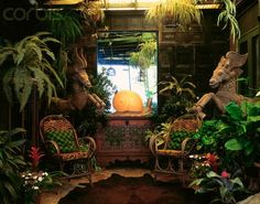 tiki interior design | Tropical Home Interior Design Ideas | TIKI FUN - HAWAIIAN/POLYNESIAN