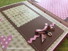 Album scrapbooking baby femmina-  http://michelabilmente.blogspot.com Album baby girl