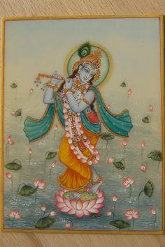 Radha Krishna Images, Krishna Radha, Krishna Love, Lord Krishna, Tanjore Painting, Krishna Painting, Om Namah Shivaya, Indian Illustration, Indian Art Paintings