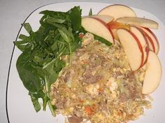 Fried Rice made with cauliflower.  17 Day Diet Recipe - Cycle 1.