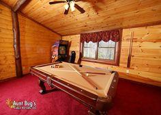 Splash N' Play #524   4 Bedroom Cabins   Pigeon Forge Cabins   Gatlinburg Cabins Cabins In Gatlinburg Tn, Smoky Mountains Cabins, Pigeon Forge Cabins, Electric Fireplace, Cabin Rentals, Indoor, Play, Vacation, Bedroom