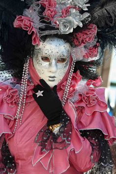 Pink Black Silver...