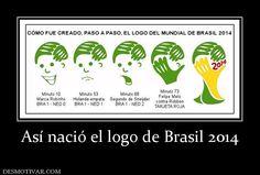 Así nació el logo de Brasil 2014