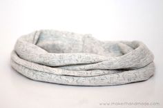 The Kita Convertible Scarf. Tutorial From Make It Handmade/not from tshirts but from knits or jersey, simple