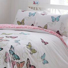 Ideal Bedding | Duvet Covers| Bedsheets | Pillowcase Pieridae New Butterflies Duvet Quilt Bedding Cover and Pillowcase Bedding Set