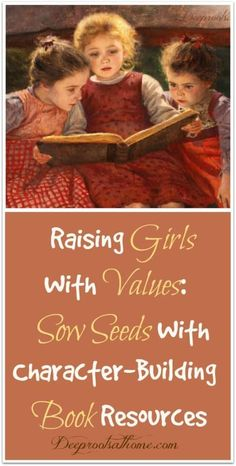 Character-Building Book Resources For Raising Girls. For the parents that wants … Character-Building Book Resources For Raising Girls. Raising Daughters, Raising Girls, Kids And Parenting, Parenting Hacks, Parenting Goals, Good Books, Books To Read, Character Qualities, Homeschool Books
