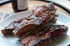 Strawberry-Jalapeño Ribs by ApronClad.com with KelleB Jam