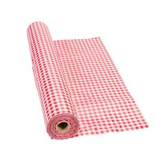 Red+Gingham+Tablecloth+Roll+-+OrientalTrading.com