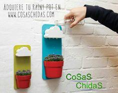 Rainy Pot, la nostalgia de la lluvia en una maceta